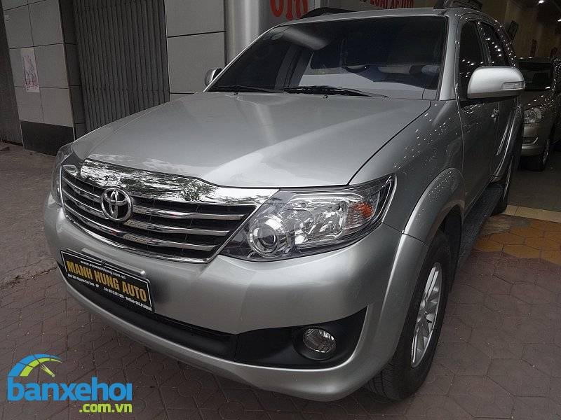 Xe Toyota Fortuner  2013-1