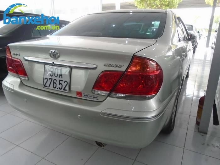 Xe Toyota Camry  2005-3