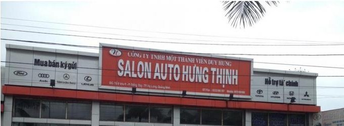 Salon Auto Hưng Thịnh