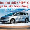 Khám phá chiếc MPV Geely giá từ 345 triệu đồng