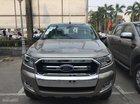 Bán ô tô Ford Ranger XLT 4x4 MT đời 2017 trả góp tại Thái Nguyên, đủ màu, giá cả cạnh tranh