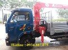 Bán xe tải Veam Hyundai 5 tấn gắn cẩu Unic URV344 3 tấn thùng dài 5.4m
