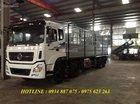 Bán xe tải Dongfeng 5 chân/5 giò 22 tấn (22t) thùng dài 9.5m hỗ trợ trả góp