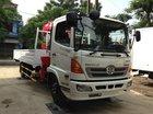 Bán xe tải Hino FC lắp cẩu UNIC 3 tấn, xe tải cẩu Hino 3 tấn, cẩu tự hành Unic 3 tấn