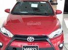 Bán Toyota Yaris E sản xuất 2017, màu đỏ, giá tốt