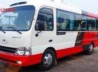 Ưu đãi xe khách 29 chỗ Hải Phòng Thaco County HB73S, giá rẻ, khuyến mại 1000 lít dầu hỗ trợ vay vốn ngân hàng