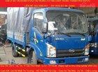 Cần bán xe tải Veam VT252, 2.4 tấn, chạy trong thành phố được, xe tải Veam VT252 giá tốt, đời 2016