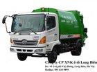 Bán xe ép rác Hino 9 khối m3