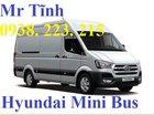 Giá xe khách 16 chỗ Thaco Hyundai Bus Mini