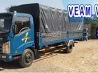 Cần bán Veam VT340 thùng bạt, đời 2016, màu xanh, 440tr