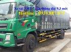 Bán xe tải Cửu Long TMT 8 tấn (8T) thùng dài 9.3 mét