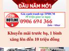 Bán xe tải Dongben 800kg, trả góp lãi suất thấp giao ngay