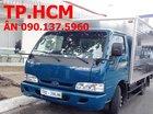 TP. HCM - bán Kia K165S 2.49 tấn đời mới, màu xanh, thùng kín tôn lạnh