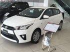 Bán Toyota Yaris E đời 2017, màu trắng, nhập khẩu Thái Lan