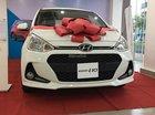 Hyundai Quận 4 bán Hyundai Grand i10 bản 1.2 AT, màu trắng, giao xe ngay, trả góp 80%. LH Hương: 0902.608.293