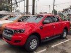 Bán xe Ford Ranger XLS 4x2AT đời 2017, màu đỏ