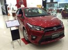 Bán xe Toyota Yaris E đời 2017, màu đỏ