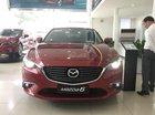Mazda 6 FL 2017 ưu đãi đến 50triệu, giao xe ngay, LH: 0938808306