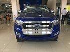 Giao ngay Ford Ranger XLT màu xanh đậm, hỗ trợ trả góp 90% - L/h: 0963483132