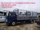 Cần bán xe tải Faw 7.3 tấn, động cơ Hyundai D4DB, thùng dài 6.25m, cabin Isuzu hiện đại