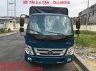 Bán xe tải 2.4 tấn, vào thành phố Ollin 345 thùng dài 3m7