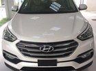 Bán Hyundai Santa Fe CKD đời 2017, màu trắng