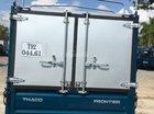 Bán xe Thaco Kia Frontier 125 thùng bạt, màu xanh lam