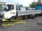 Bán xe tải Veam VT340S 3T49, thùng lửng dài 6.2m giá tốt