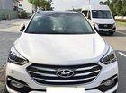 Bán Hyundai Santa Fe 2.4 AT 4WD đời 2017, màu trắng số tự động