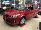 Bán xe Toyota Yaris E đời 2017, màu đỏ, nhập khẩu