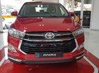 Bán xe Toyota Innova đời 2018, số tự động Sport, hỗ trợ vay 90% xe giao ngay đỏ đen tại Toyota Đông Sài Gòn