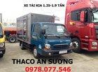 Bán xe tải Kia 2.4 tấn TPHCM, mui bạt bửng giao xe 2017