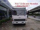 Bán xe tải Faw 7.3 tấn, động cơ Hyundai, giá tốt nhất, l/h 0936 678 689