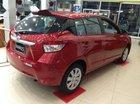 Bán xe Toyota Yaris E đời 2017, màu đỏ, 592 triệu