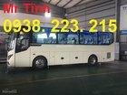Thông số xe Thaco Town TB85 29, 34 chỗ, bầu hơi, model 2018, màu trắng mới nhất