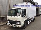 Bán xe tải Hino 1T9 model XZU 650 chạy thành phố giao xe ngay, hỗ trợ trả góp 90%