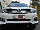 Cần bán gấp Toyota Fortuner TRD Sportivo 2016, màu trắng như mới