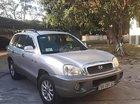 Bán Hyundai Santa Fe Gold 2.0 AT đời 2003, màu bạc, nhập khẩu