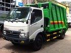 Bán xe ép rác Hino 9 khối, giá xe chở rác Hino