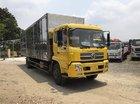 Bán xe tải Dongfeng 6.7 tấn, màu vàng, nhập khẩu, thùng dài 9.3 mét