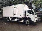 Bán xe tải Fuso Fi 7 tấn thùng kín bảo ôn, thùng đông lạnh tải trọng 7 tấn, nhập khẩu 2017