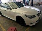 Bán ô tô BMW 5 Series 530i năm sản xuất 2008, màu trắng, nhập khẩu nguyên chiếc xe gia đình, 595 triệu