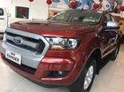 Bán xe Ford Ranger XLS AT 2018 màu đỏ, giao ngay tại Hà Nội, miễn phí đăng kí đăng kiểm, giao xe toàn quốc, trả góp 90%
