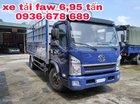 Cần bán xe tải Faw 6.95 tấn, thùng dài 5m1, cabin Isuzu, giá rẻ nhất