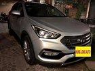 Cần bán xe Hyundai Santa Fe 2.4 AT 4WD năm sản xuất 2017, màu bạc