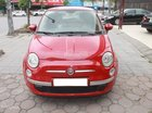 Bán Fiat 500 màu đỏ, số tự động, máy xăng sản xuất 2009 đăng ký 2011