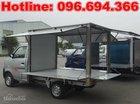 Bán xe tải Dongben 900kg, thùng kín cánh dơi, trả góp uy tín tại TPHCM