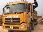 Bán xe tải trên 10 tấn sản xuất 2010, màu vàng, giá 550tr