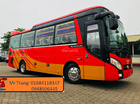 Các lợi điểm dòng xe 29-34 chỗ Thaco TB85S 2018 Euro IV, thắng từ, mâm đúc. Hỗ trợ trả góp
