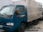 Chuyên bán xe tải nhẹ Kia K125 tải 1.25 tấn đủ các loại thùng, liên hệ 0984694366, hỗ trợ trả góp